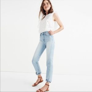 Madewell Perfect Summer Jean Fitzgerald Wash